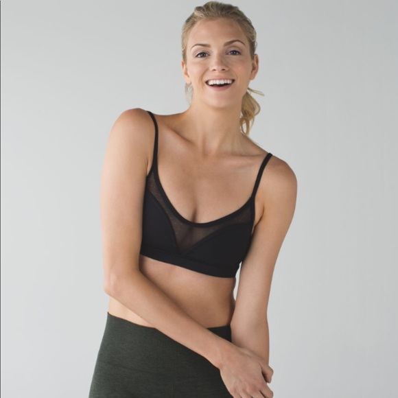 6c59821319a5a lululemon athletica Other - Lululemon dance to yoga bra black size 2